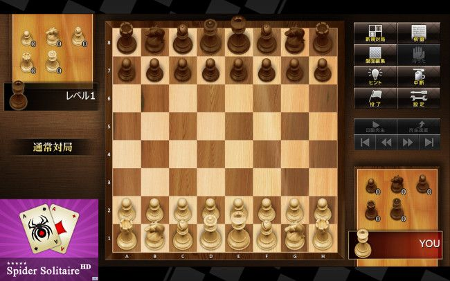 ザ・チェス レベル100 ゲーム画面