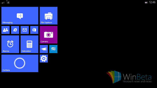 Windows 10 for small tablets