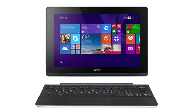 acer Aspire Switch 10 正面