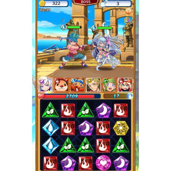 Battle Odyssey バトル画面