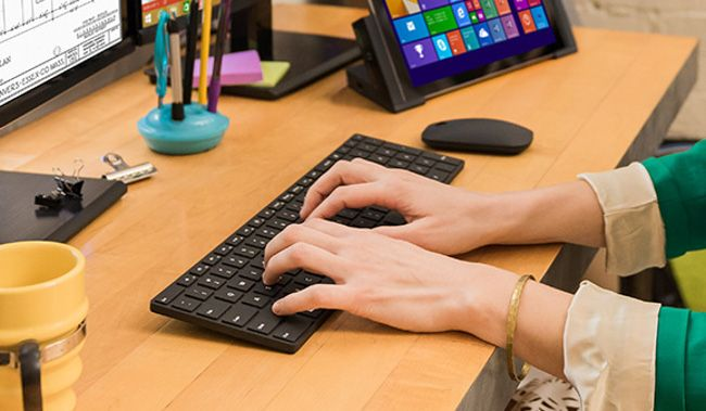 Microsoft's Designer Bluetooth keyboard and mouse