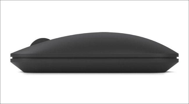 Designer Bluetooth Mouse 横から見たところ