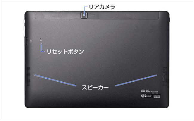 MousePro-P101 背面