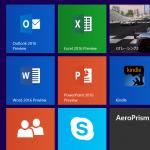 Office 2016 Previewをタブレットにインストールしたので、やり方を説明するよ
