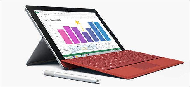 Microsoft Surface 3とタイプカバー