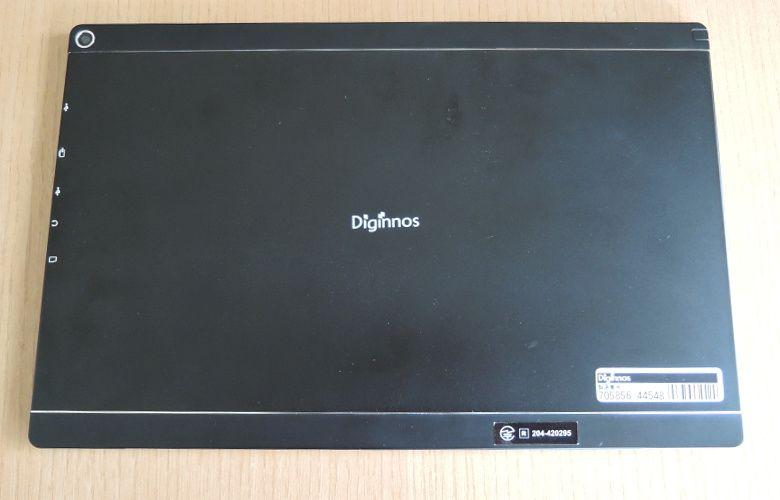 ドスパラ Diginnos DG-D10IW2 筐体背面