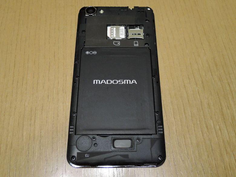 MADOSMA バッテリー取り付け