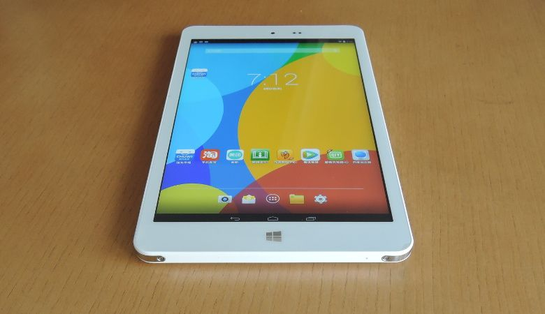 Chuwi Hi8 Android画面にWindowsボタン