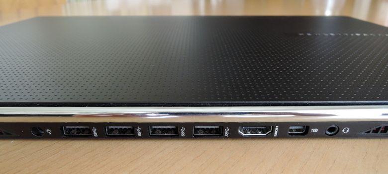 HP OMEN 15-5100 背面