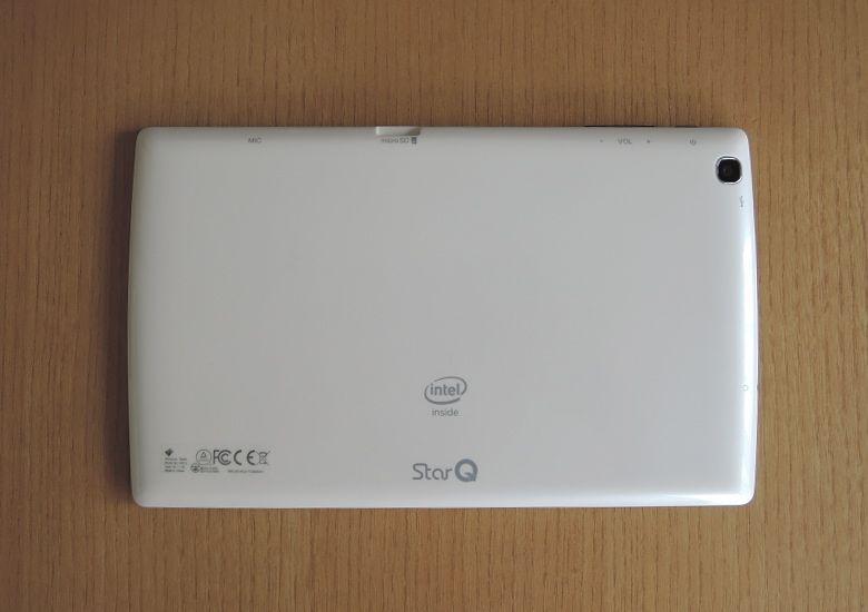 StarQ Pad W01J 背面
