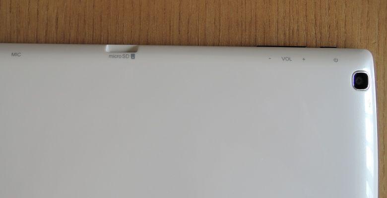 StarQ Pad W01J 筐体側面(裏)