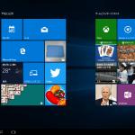 Windowsの小ネタ - 8インチWindowsタブレットにWindows 10をインストールしてみた