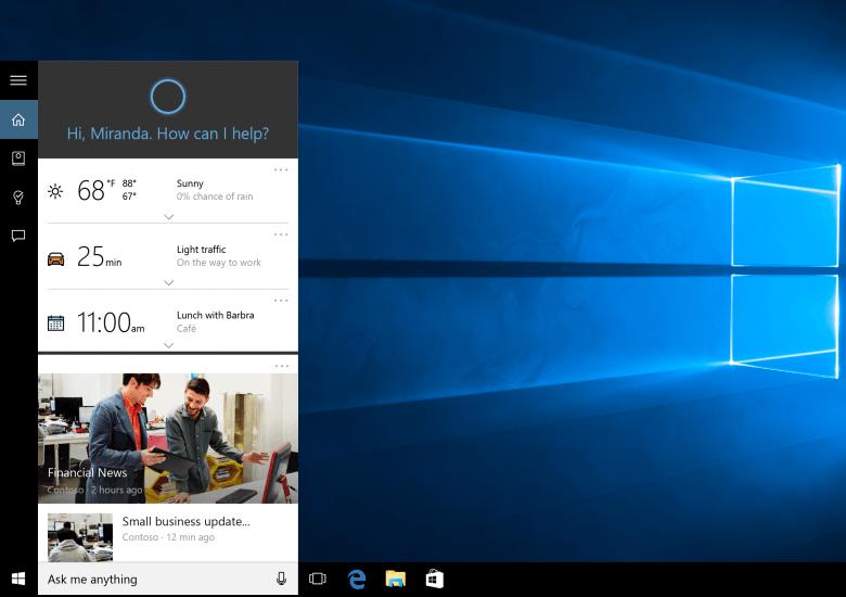 Windows 10に未実装な機能