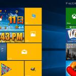 Microsoftストアアプリ - Clock Tile DIY+ 昔のWebサイトみたいなデザインの時計アプリ