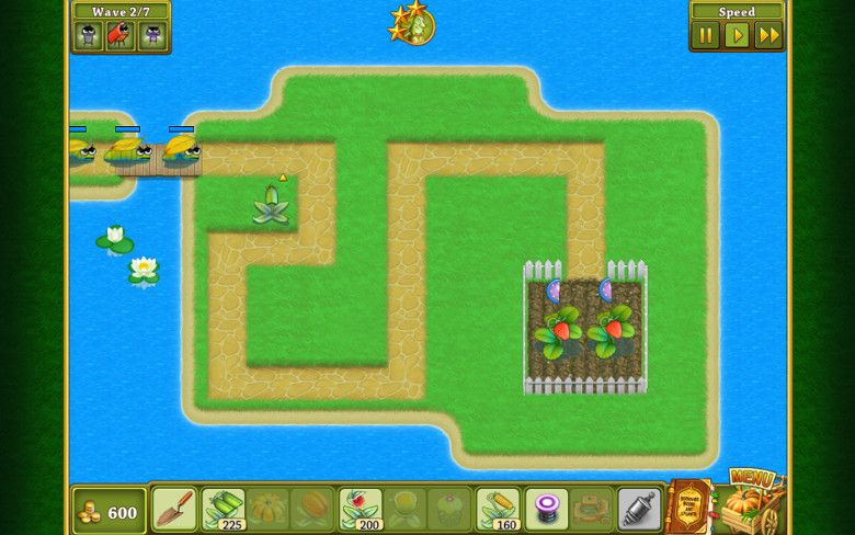 Garden Rescue マップ