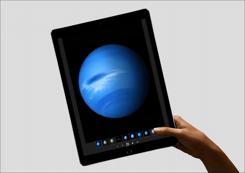 iPad Pro でかい…