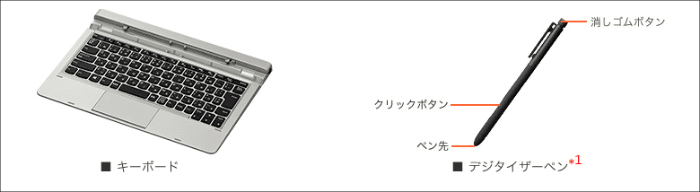 LAVIE Hybrid Standard 付属品