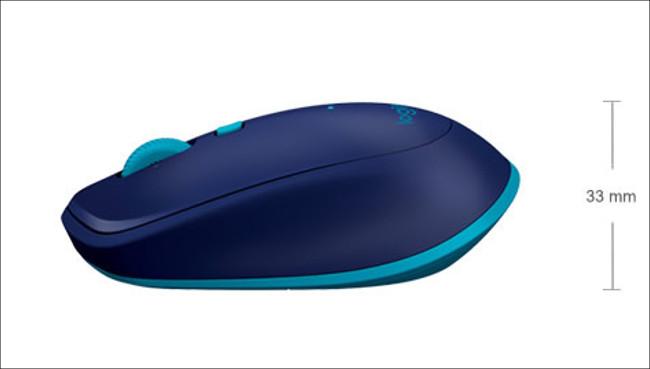 ロジクール M337 マウス外観2