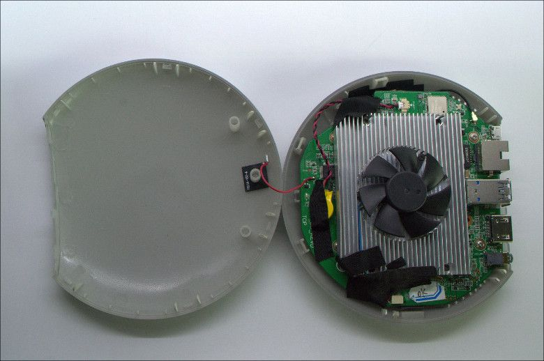 MeegoPad T04 冷却ファン