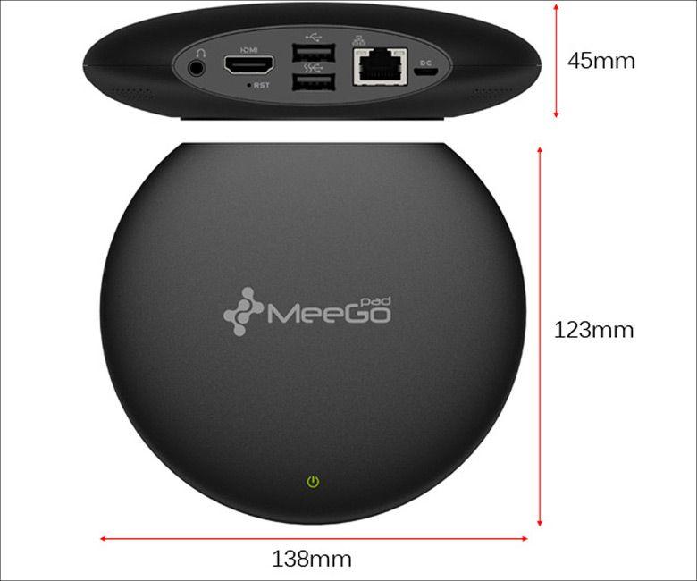 MeegoPad T04 サイズ