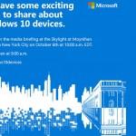 Microsoftが10月6日にイベント開催、Surface Pro 4、Lumia 950、Bandを発表か?
