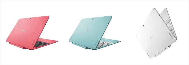 ASUS TransBook T100HA カラバリ