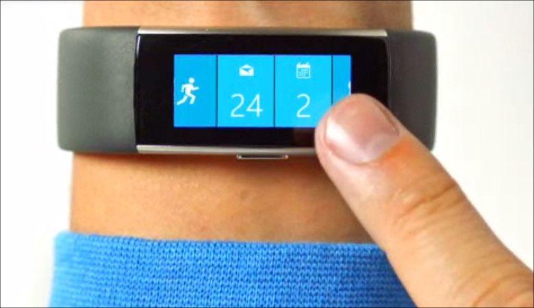 Microsoft Band 2 装着
