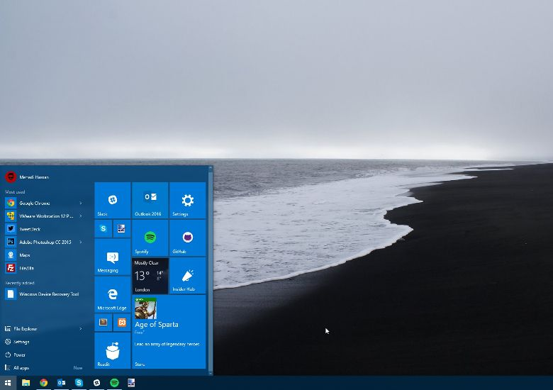 Windows 10 ビルド10565