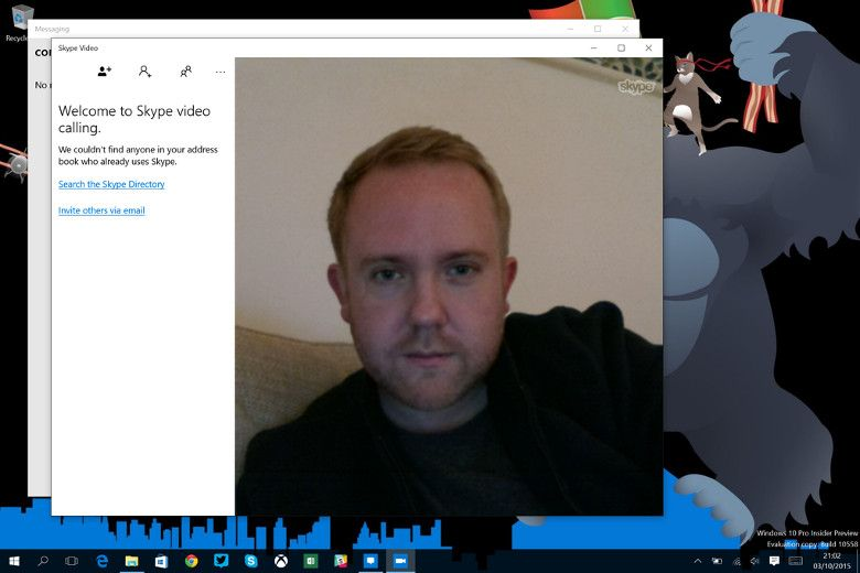 Skypeの統合