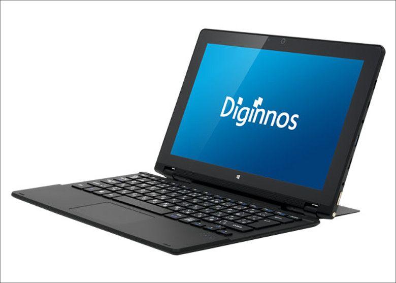 ドスパラ Diginnos DG-D11IW ノートPC形態