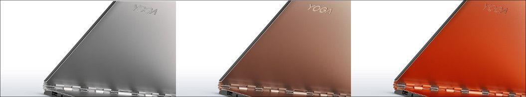 Lenovo YOGA 900 3つのカラー