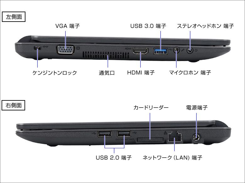LuvBook  C 各部仕様2