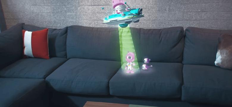 HoloLensでゲーム