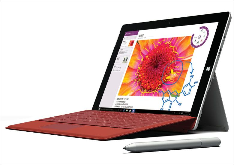 Microsoft Surface 3にWi-Fiモデル