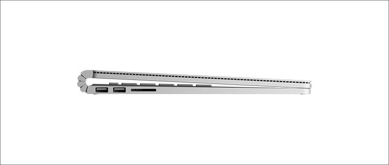 Microsoft Surface Book 独特なヒンジ