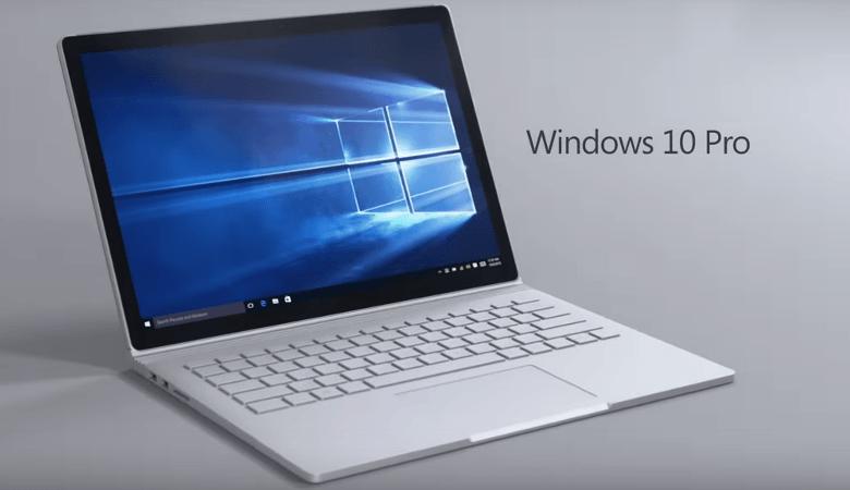 Surface BookのOSはWindows 10 Pro