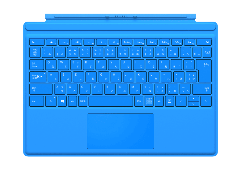 Surface Pro 4 タイプカバー