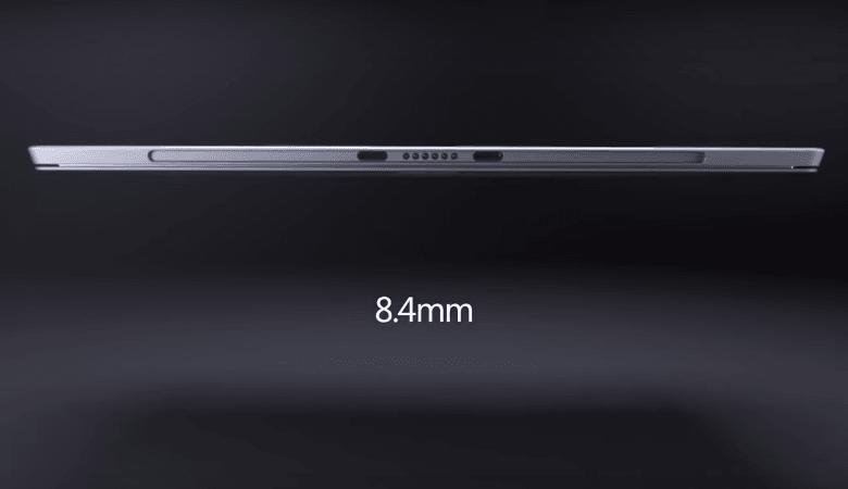 Surface Pro 4の薄さは8.4mm