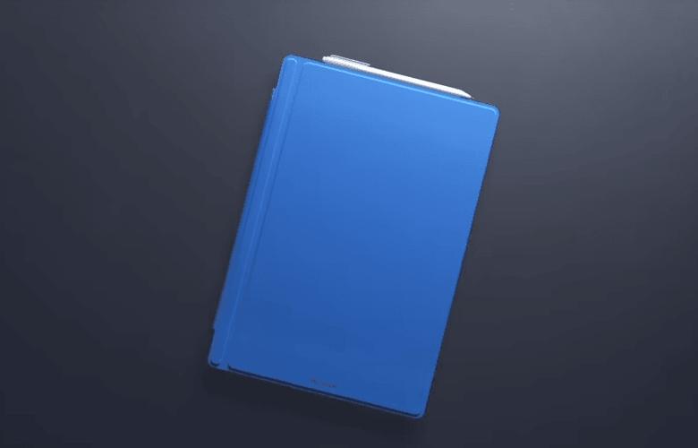 Surface Pro 4 カバーをつけたところ
