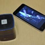 EC Technology ポータブルミニ Bluetoothスピーカー コンパクトで高級感あり(実機レビュー)