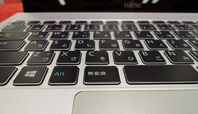 富士通 LIFEBOOK WS1/W キーボード