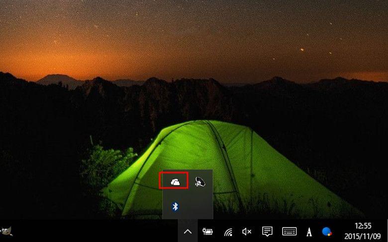 OneDriveのアイコン