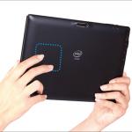 テックウインド CLIDE W10A - え?背面にタッチパッドですか?な10.1インチWindowsタブレット