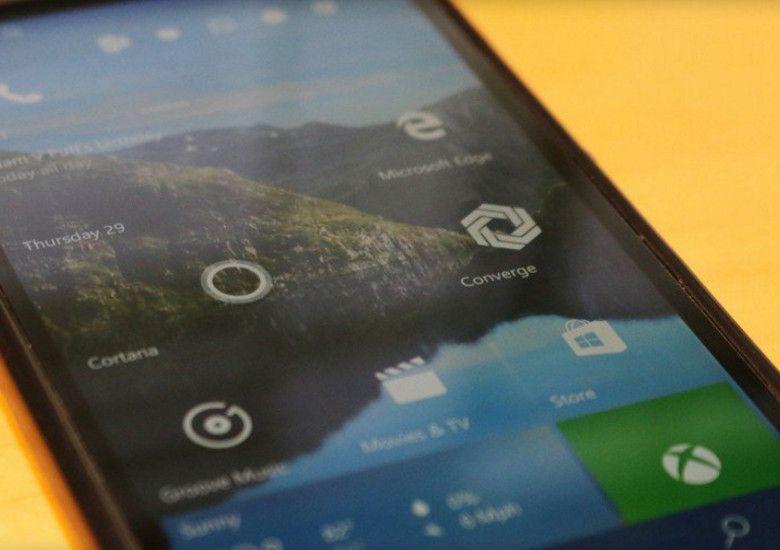 Windows 10 Mobileがビルド10586に