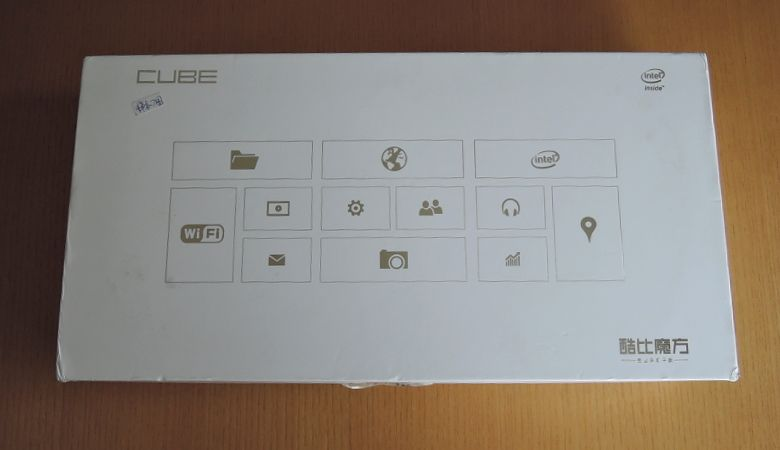 Cube iWork11 outer box