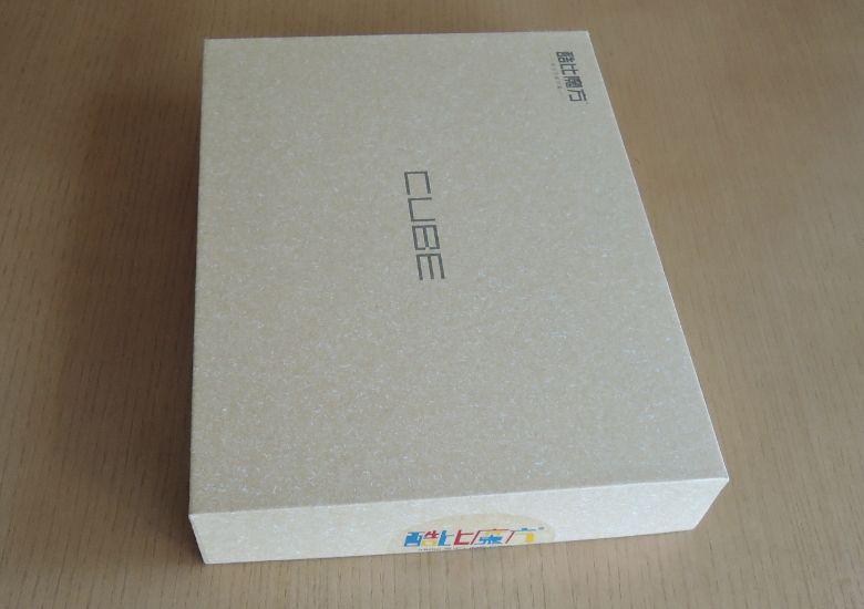 Cube iWork8 Ultimate 外箱