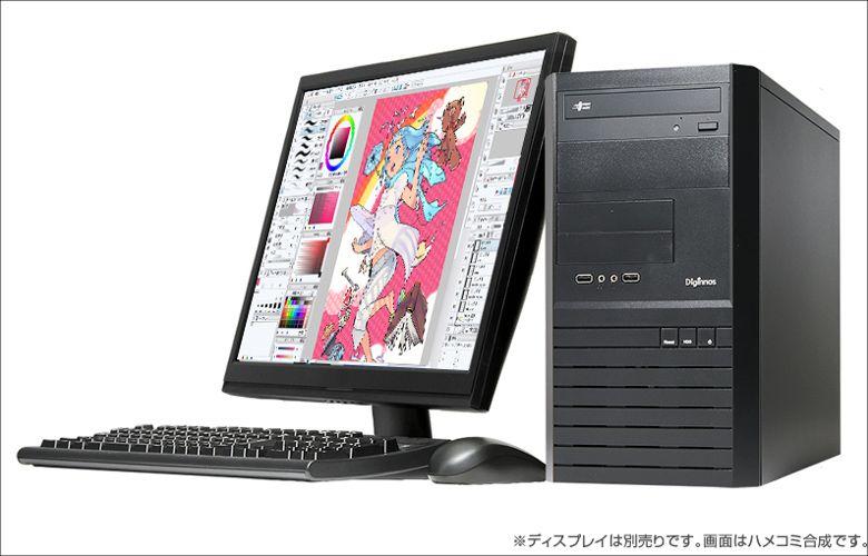 ドスパラ イラスト作成用PC