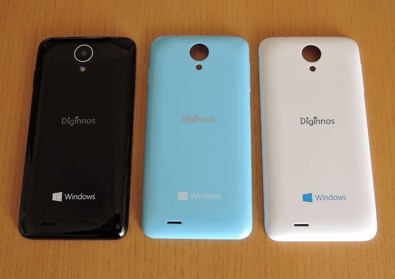 ドスパラ Diginnos Mobile DG-W10M 背面カバー
