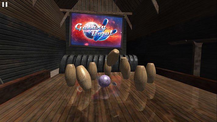 Galaxy Bowl オプションのゲーム