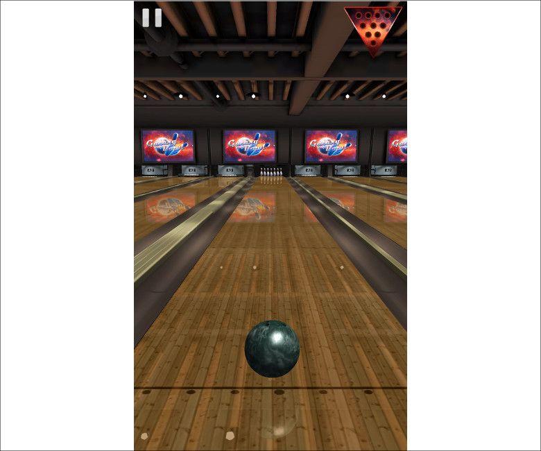 Galaxy Bowl ゲーム画面